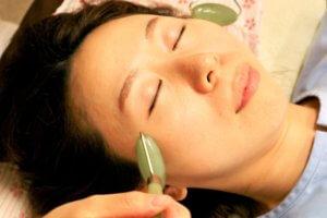 鍼灸と翡翠テクニック